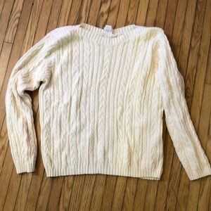 Sweaters - (2 for 15$) Cable knit sweater